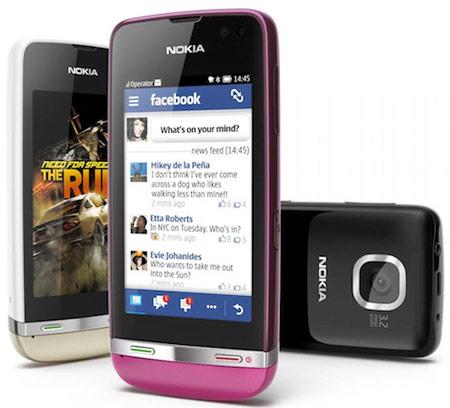 Телефоны Nokia Asha 305, 306 и 311 оснащены трехдюймовыми сенсорными экранами