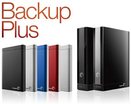 Внешние жесткие диски Seagate Backup Plus комплектуются ПО для резервного копирования альбомов Facebook и Flickr