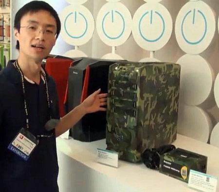 Huntkey покрывает корпус для ПК и блок питания FX600 камуфляжной раскраской