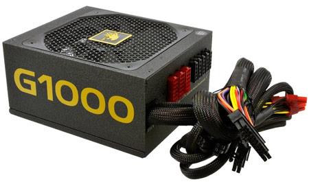 Блок питания Lepa G1000-MA имеет сертификат 80 Plus Gold