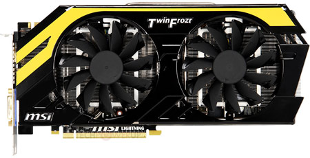 3D-карта MSI GeForce GTX 680 Lightning