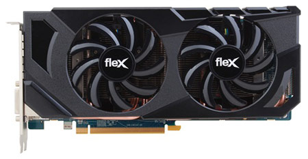 Ассортимент Sapphire пополнила 3D-карта Radeon HD 7870 FleX