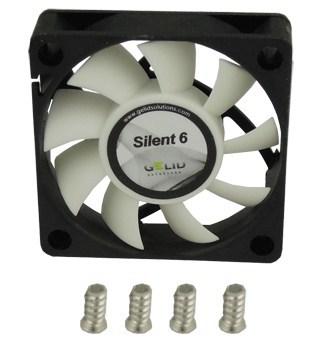 GELID выпускает корпусные вентиляторы Silent 5 и Silent 6