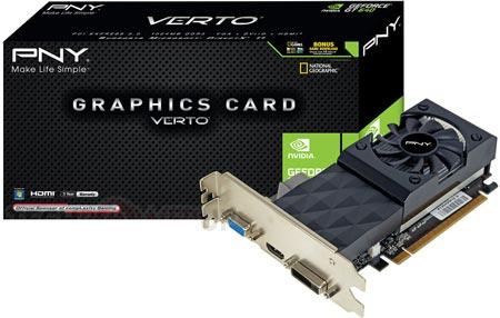 PNY выпускает 3D-карту Verto GeForce GT 640 — архитектура Kepler идет в сегмент начального уровня