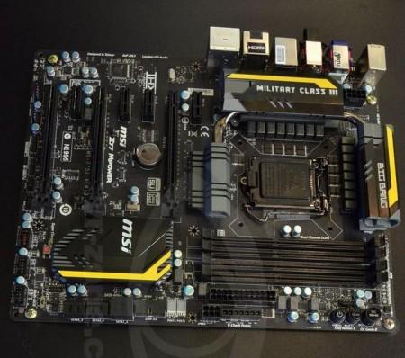 Системная плата MSI Z77 MPower