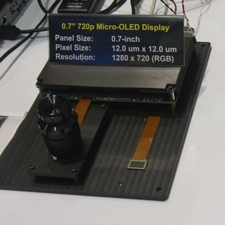 �������� Sony �������� ������ ���� OLED ��� ����������� ������������� � ������� ��������