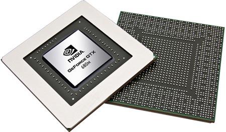 Представлен мобильный GPU NVIDIA GeForce GTX 680M