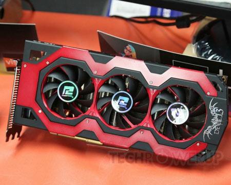 3D-����� PowerColor HD 7970 X2 Devil 13 �������� �� ���� GPU Tahiti, ���������� �� ������� 1050 ���