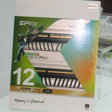 Модули памяти Silicon Power XPower DDR3 рассчитаны на любителей разгона