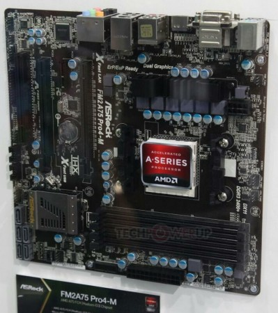 Системная плата ASRock FM2A75 Pro4-M