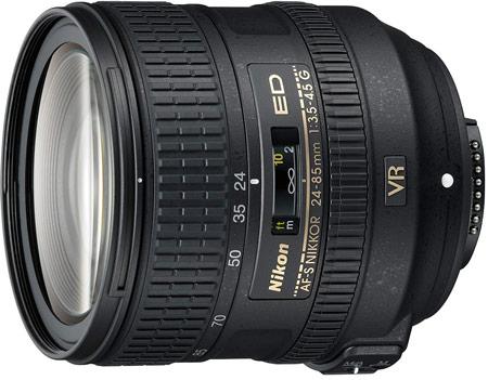 Цена AF-S NIKKOR 24-85mm f/3.5-4.5G ED VR — $600