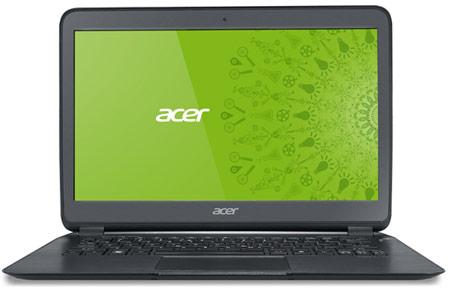 Начались продажи самого тонкого ультрабука в мире Acer Aspire S5
