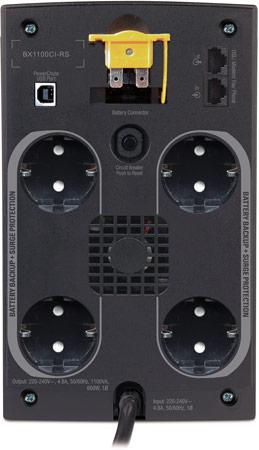 Источник бесперебойного питания APC Back-UPS 1100 возглавил линейку BX