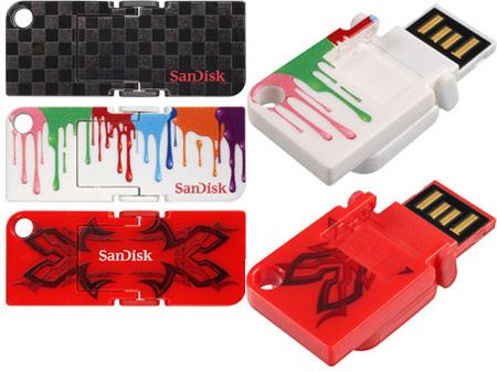 SanDisk анонсирует флэш-накопители с интерфейсом USB 3.0