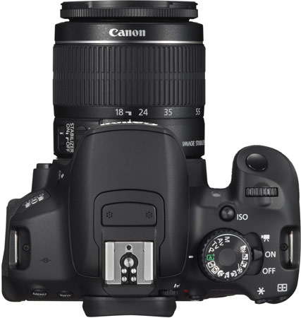Canon EOS 650D - первая зеркальная камера Canon с сенсорным экраном
