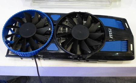 MSI предлагает новую концепцию охладителя для 3D-карт
