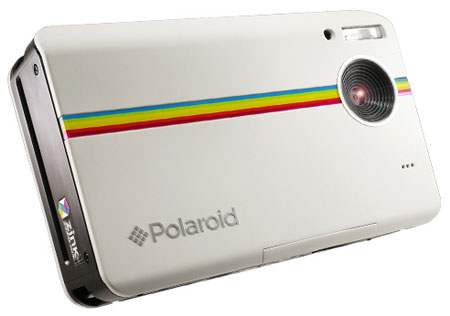 Фотокамера Polaroid Z2300 оснащена встроенным принтером
