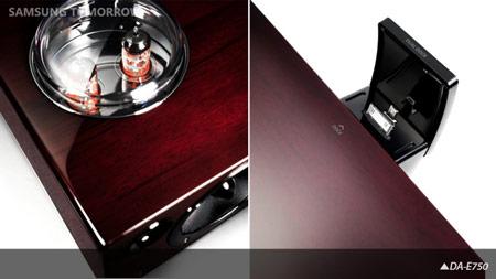 Samsung использует радиолампы в звуковой стыковочной станции DA-E750
