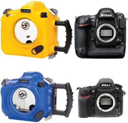Aquatech начинает прием заказов на «спортивные боксы» для камер Nikon D4 и D800