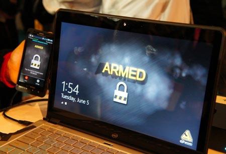 Intel демонстрирует «противоугонную систему» для ультрабуков