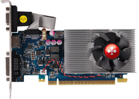 Club 3D оснащает 2 ГБ памяти низкопрофильную 3D-карту GeForce GT 640