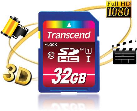 Скорость записи карт памяти Transcend SDHC Class 10 UHS-I объемом 32 ГБ достигает 45 МБ/с, чтения — 85 МБ/с