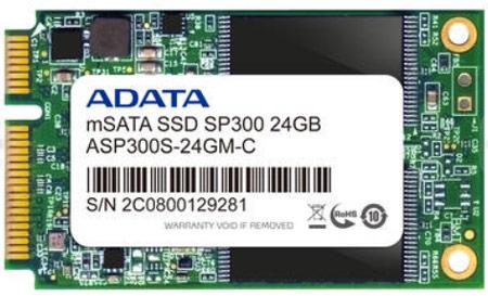 Твердотельные накопители ADATA XPG SX300 и Premier Pro SP300 выполнены в форм-факторе mSATA