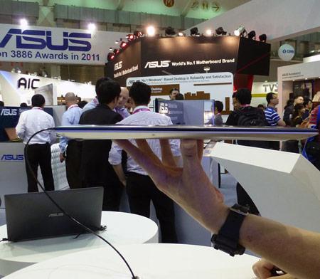 Ультрабук ASUS Zenbook Prime UX32 оснащен дисплеем типа IPS размером 13,3 дюйма и дискретным GPU