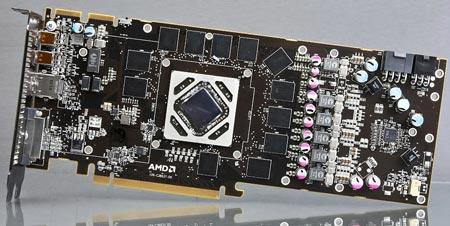 В Сети появились снимки, спецификации и результаты теста 3D-карты Radeon HD 7970 GHz Edition