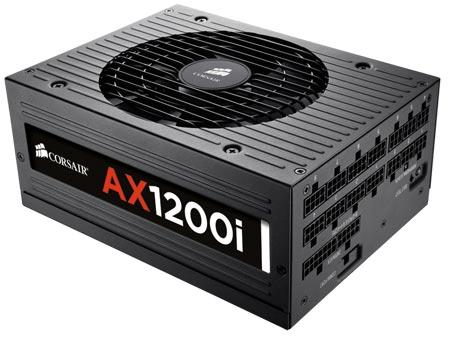 Блок питания Corsair AX1200i: 1200 Вт, 80 PLUS Platinum, модульная кабельная система и возможность управления схемой