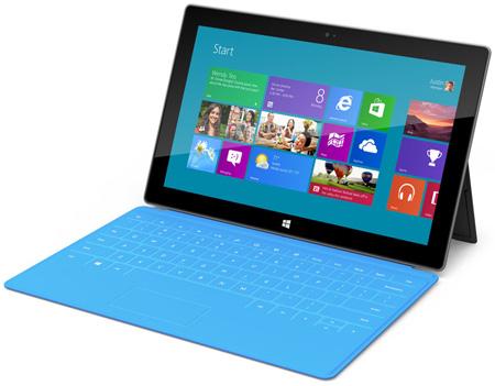 Данные о стоимости планшетов Microsoft Surface пока не радуют