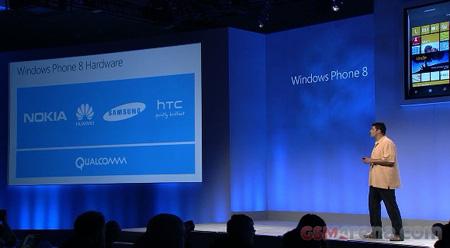 Свои изделия под управлением Windows Phone 8 выпустят Samsung, HTC, Nokia и Huawei