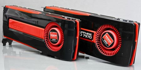 � ���� ��������� ������, ������������ � ���������� ����� 3D-����� Radeon HD 7970 GHz Edition
