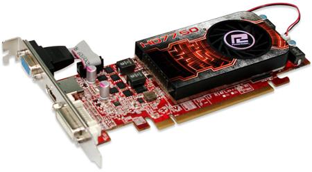 О цене PowerColor HD7750 1GB GDDR5 LP на сайте производителя данных нет
