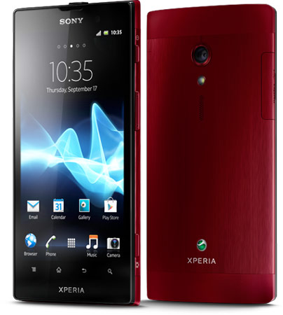 Sony анонсирует версию смартфона Xperia Ion для европейского рынка