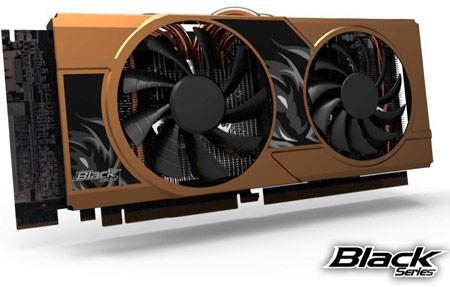 ECS анонсирует 3D-карту GeForce GTX 680 Black Series с позолоченным кожухом кулера