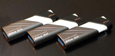 CeBIT: «флэшка» Kingston DataTraveler Elite 3.0 объемом 64 ГБ демонстрирует скорость чтения 85  <!--