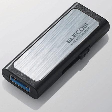 Elecom оценивает «флэшку» MF-BSU304GBK с интерфейсом USB 3.0 всего лишь в $19