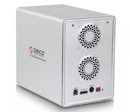 Корпуса для массивов накопителей ORICO 9548RUS3 и 9558RUS3 оснащены интерфейсами USB 3.0 и eSATA