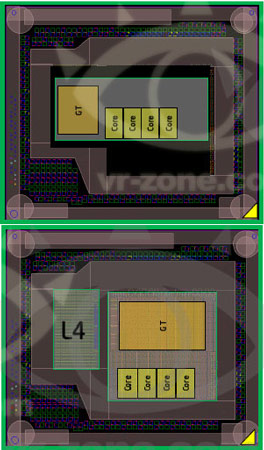Для повышения производительности графической подсистемы в корпусе процессоров Haswell будет еще один кристалл