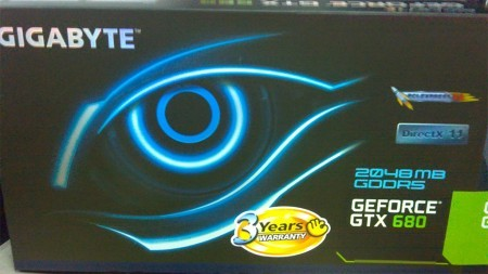 Видеокарта GIGABYTE GeForce GTX 680