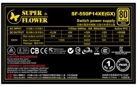Блок питания Super Flower GX550