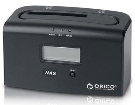 ORICO 8618NAS объединяет функции стыковочной станции и сетевого накопителя