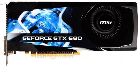 Видеокарта MSI GeForce GTX 680