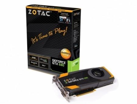 Видеокарта ZOTAC GeForce GTX 680