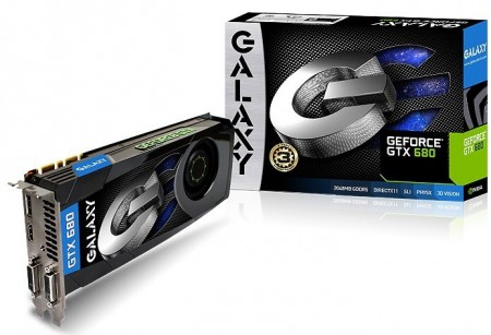 Видеокарта Galaxy GeForce GTX 680