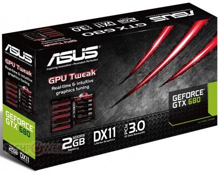 Видеокарта ASUS GeForce GTX 680