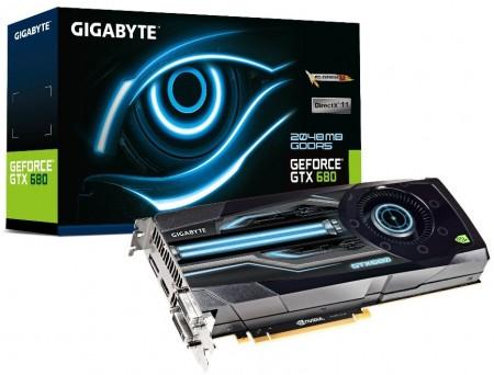 Видеокарта GIGABYTE GeForce GTX 680