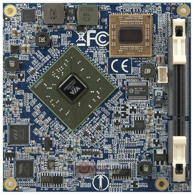 VIA выпускает компьютерные модули COMe-8X92 и QSM-8Q90