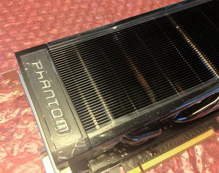 Фото дня: 3D-карта Gainward GeForce GTX 680 Phantom с «невидимыми» вентиляторами